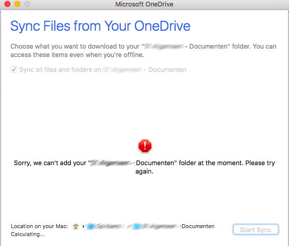 Issues syncing SharePoint Online libraries with OneDrive for Mac
